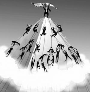 пирамида ммм Мавроди, схема Понции