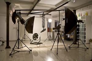 Рабочее место фотографа