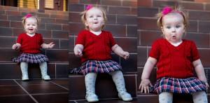 Детская фотосессия в движении