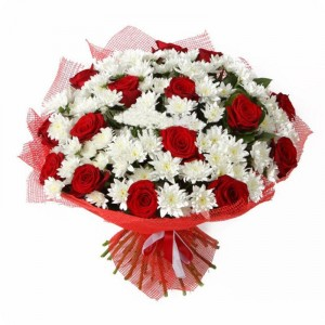 Праздничный букет цветов