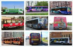 Реклама на транспорте эффективна и успешна