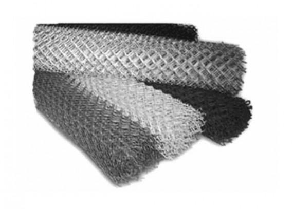 Рулоны сетки рабицы