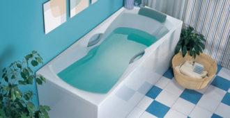 Акриловая ванна в доме
