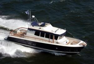 Яхта для рыбалки