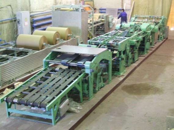 Линия по производству бумажных пакетов