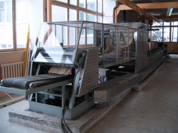 Линия по производству бумажной упаковки