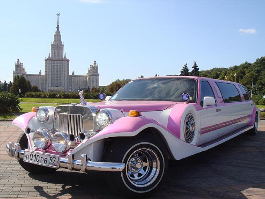 Ретро лимузин