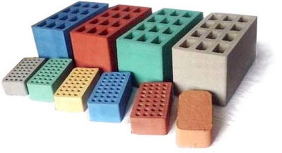 Силикатный кирпич с цветовыми добавками