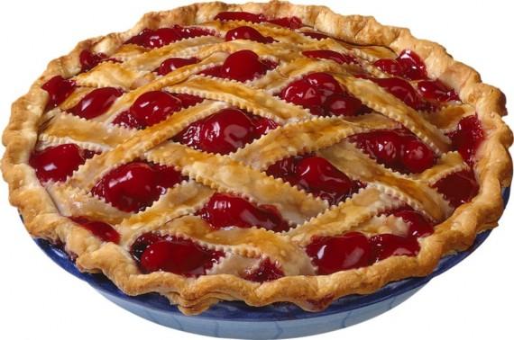 Изображение домашнего пирога с ягодами