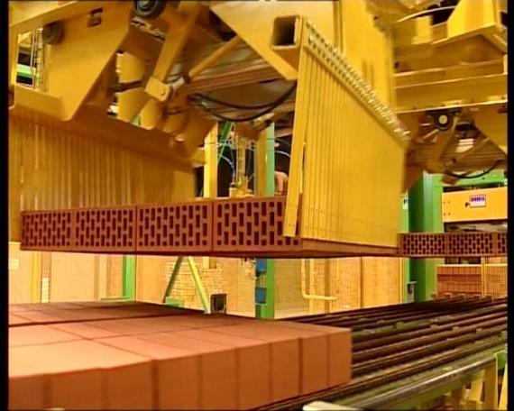 Производственная линия по изготовлению кирпича