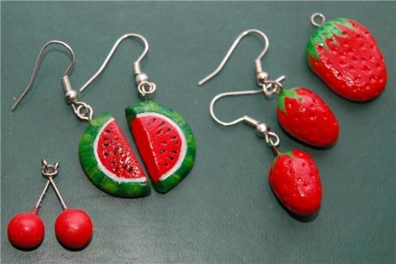 Украшения в форме фруктов своими руками