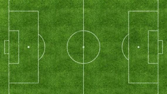 Футбольное поле, вид сверху