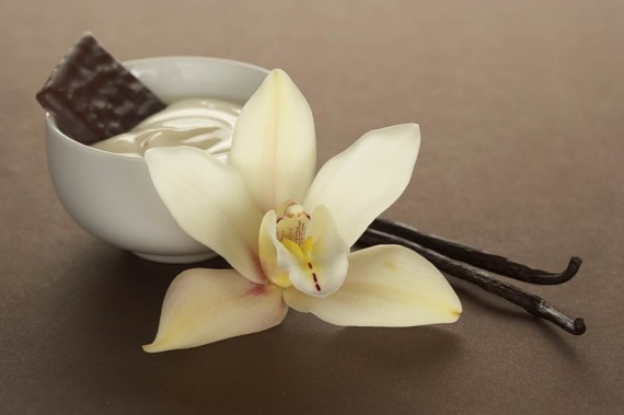 чашка с белым и темным шоколадом