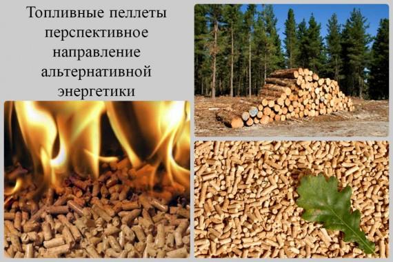 топливные пеллеты из древесных опилок