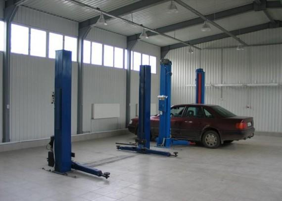 помещение для автомастерской