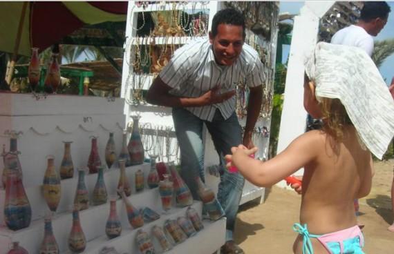 сувениры на пляже