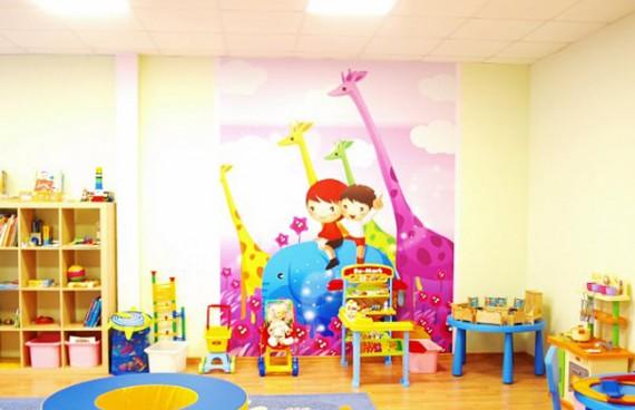 оборудованная детская комната