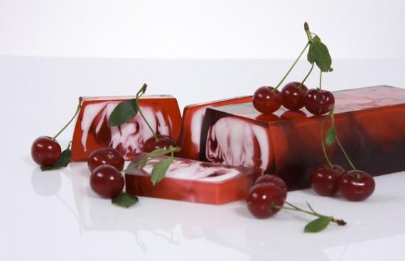 вишневое мыло