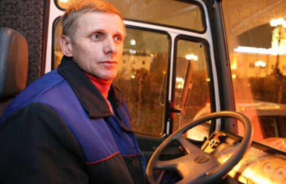 водитель маршрутки