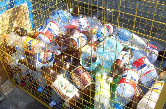 контейнеры для пластикового мусора