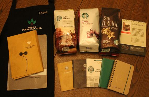 Методические материалы и кофе Старбакс