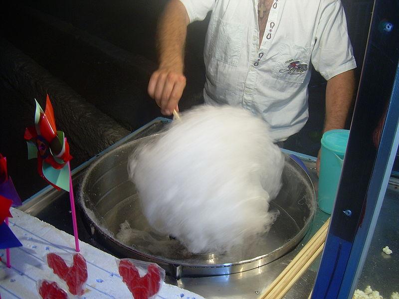 Бизнес-идея: продажа сладкой ваты