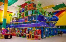 Открываем детскую игровую комнату