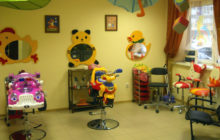 Детская парикмахерская — новая грань привычного бизнеса