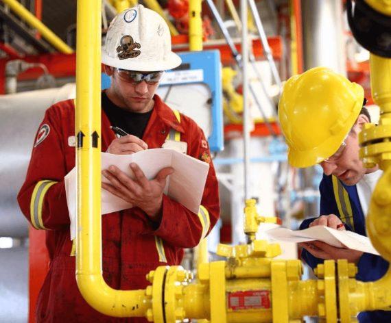 Работники газовой промышленности