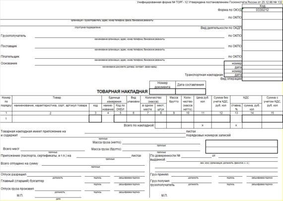 Первичный бухгалтерский документ