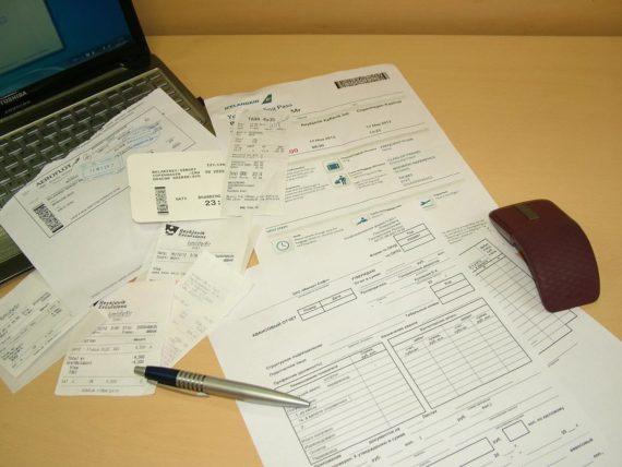 Документы для авансового отчёта