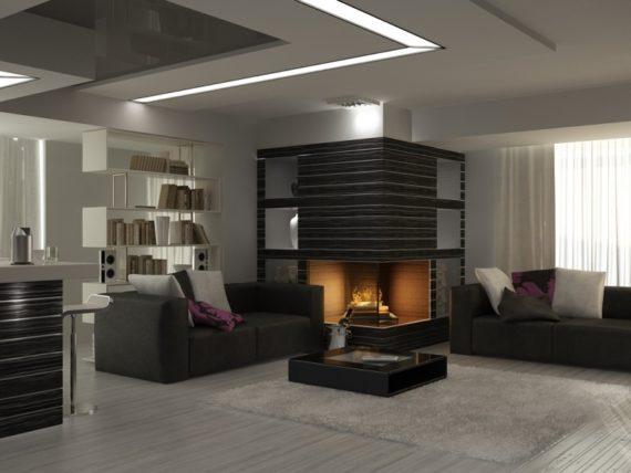 Вариант ремонта квартиры в среднем ценовом диапазоне