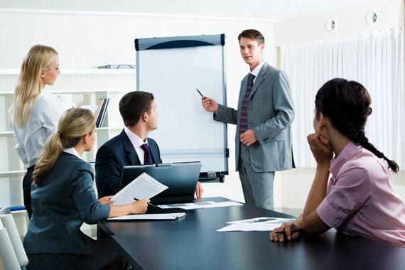 Обсуждение развития фирмы