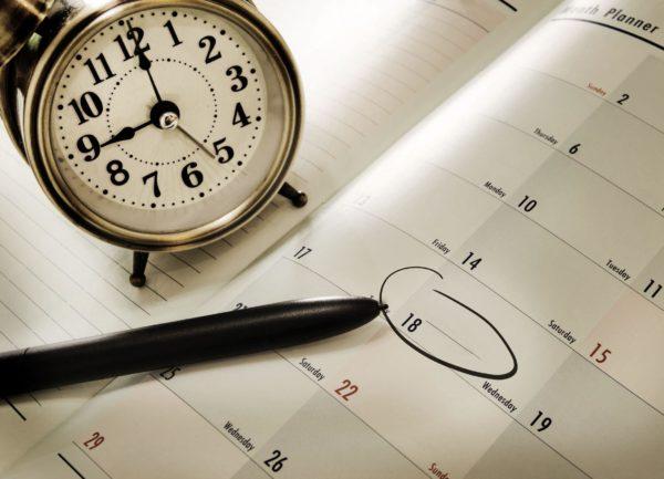 Планирование дня – залог его успеха