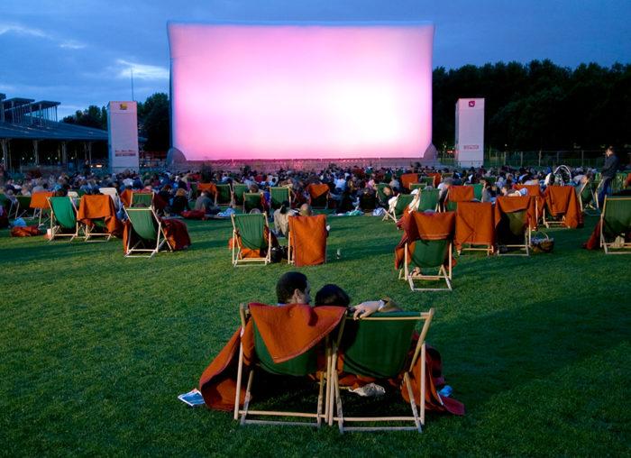 Кинотеатр под открытым небом
