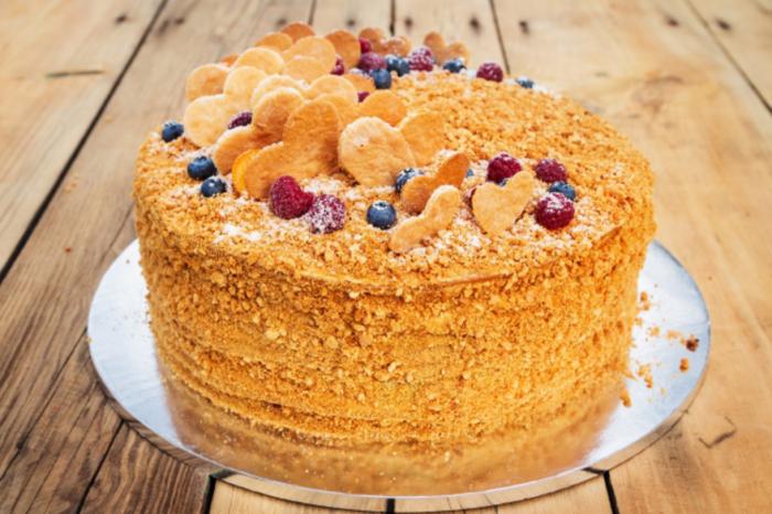 Идея 7. Домашние торты