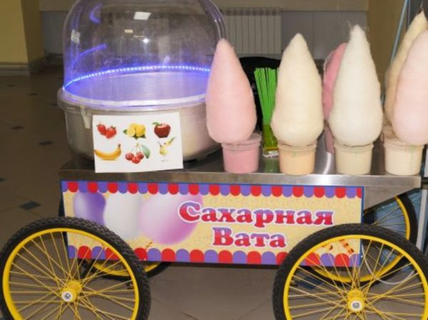 Бизнес на продаже сладкой ваты