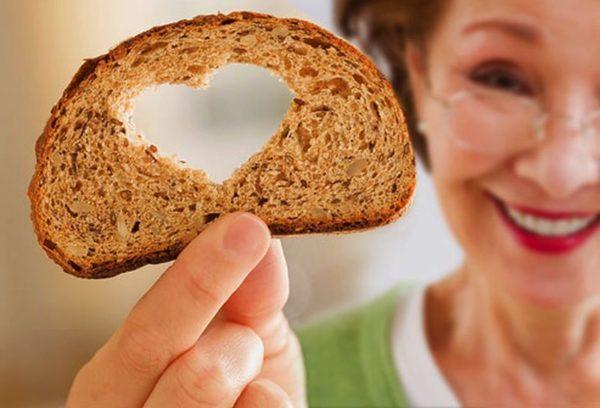 Уединенное употребление хлеба