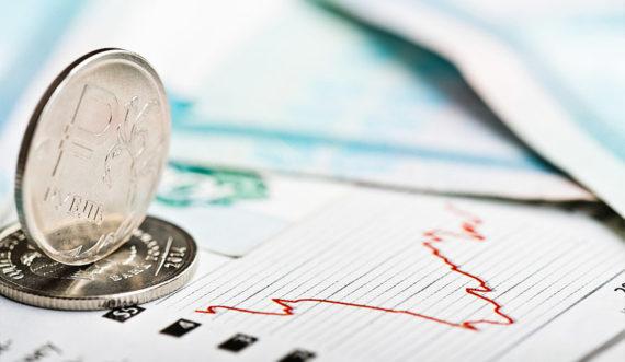 обвал рубля в феврале