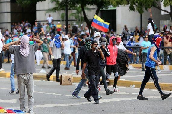 конфликт в венессуэле