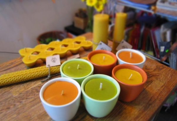 Изготовление парафиновых свечек