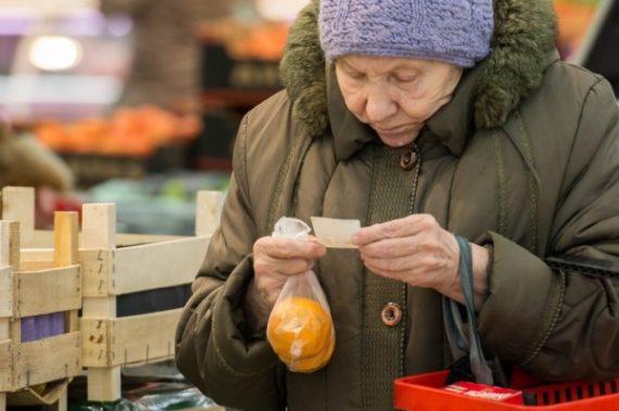 babushka s mandarinami