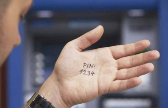 pin kod na ruke