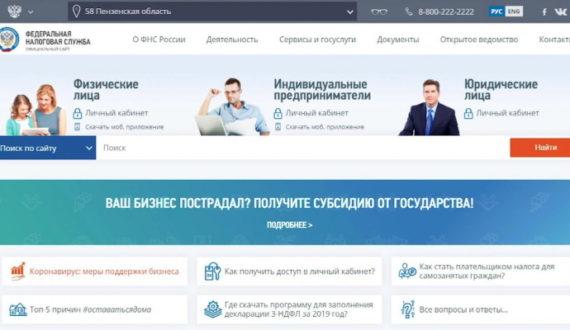 FNS sajt