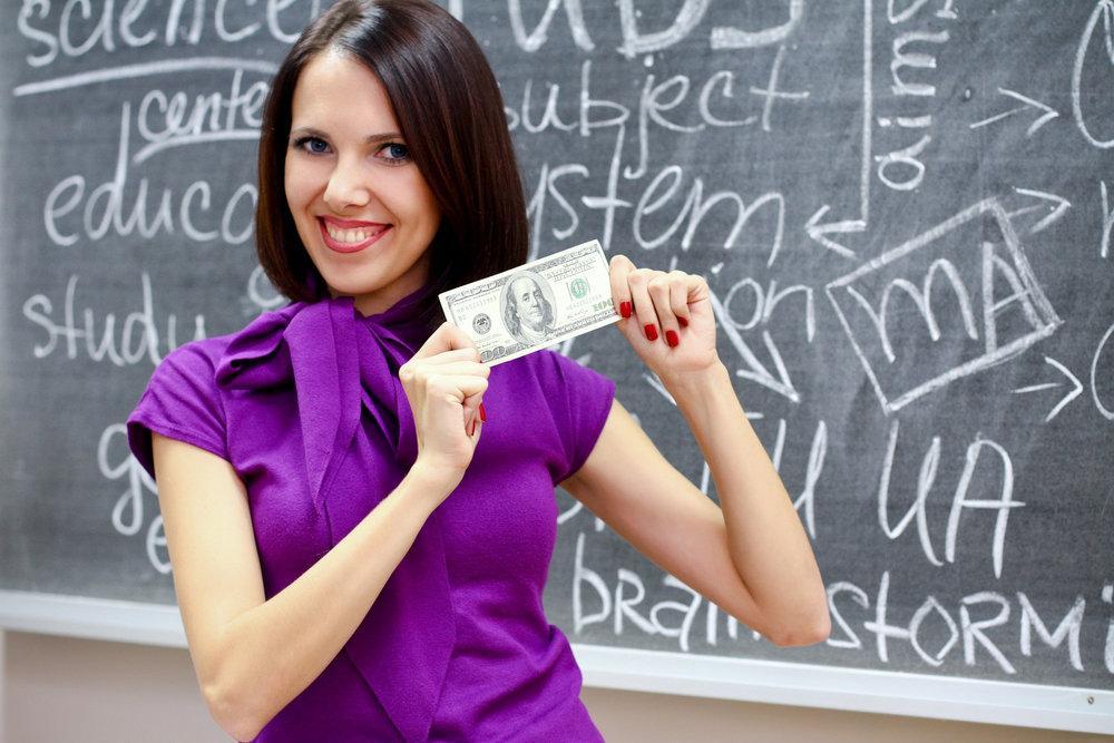 Зарплата учителей